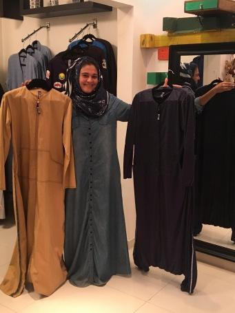 Eman and abayas2