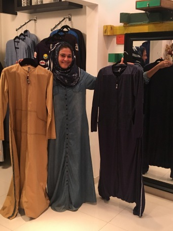 Eman and abayas2